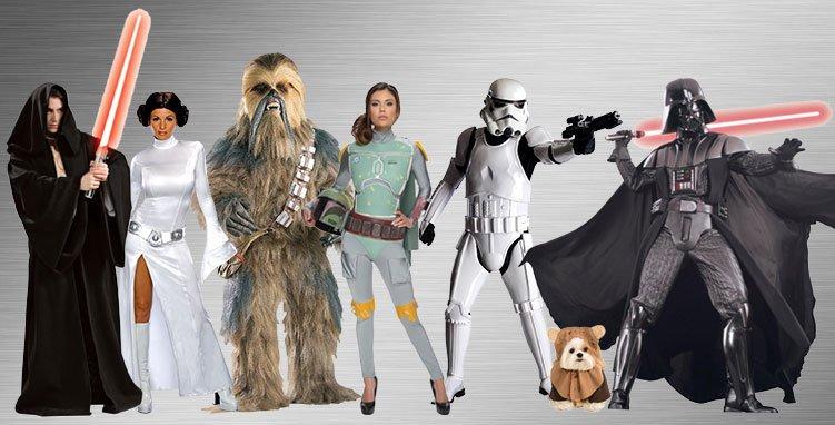 Les costumes Star Wars, rois des produits dérivés