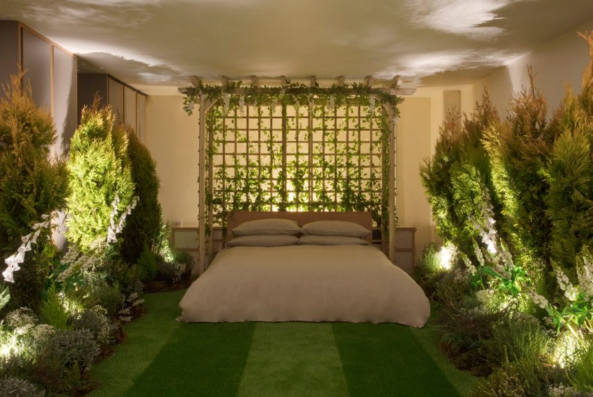 chambre pantone greenery