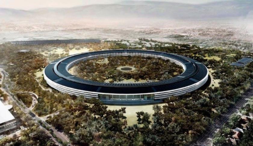 Le futur siège social Apple, 5 milliards de dollars