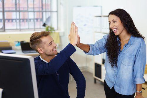 entretien d'embauche réussi